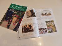 EBTS会報誌に日本トピアリー協会が紹介されました